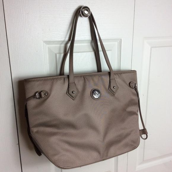 Joy Mangano Handbags - Joy Mangano Large Tote Carry On Brown